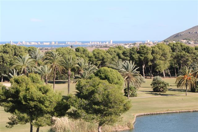 Golf Course with view to Mar Menor, La Manga
